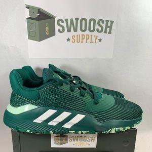 Adidas Pro Bounce 2019 Low Green Men 13 Basketball